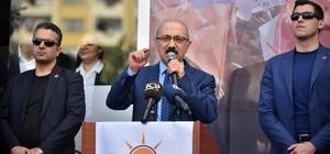 Kalkınma Bakanı Elvan, Mersin'de: