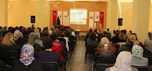 Kadın Danışma Merkezi, Avanos'ta seminer verdi