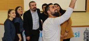 Germencik'te Serkan Karaismailoğlu konferansı büyük ilgi gördü