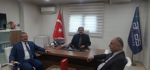 İlçe belediye başkanlarından Aras'a hizmet teşekkürü