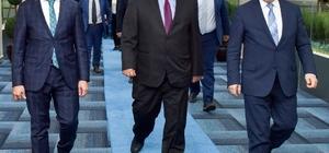 KKTC Milli Eğitim ve Kültür Bakanı Berova'dan, Başkan Sekmen'e ziyaret
