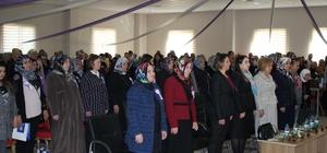 Kaymek Kadınlar Günü'nü ilçelerde de kutladı