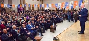 Bakan Akdağ ve Başkan Sekmen Oltu, Olur ve Şenkaya'da yeni sistemi anlattı