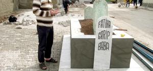 Garip Baba mezarına belediye sahip çıktı