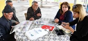 Vatandaşlar sorunlarını Gezici Hizmet Ekibi ile Büyükşehir'e iletiyor