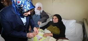 Tuba Işın'dan Huzur Evi ve Kadın Doğum Hastanesine ziyaret