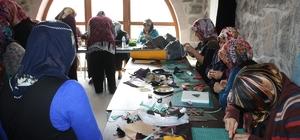 Uçhisar Kadın Kültür ve Eğitim Merkezi'nde, deri ve aksesuar kursu açıldı