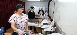 Büyükşehir'in öğrencilere kalp taraması devam ediyor