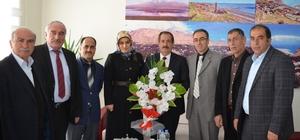 Malmüdürü Vural'dan Başkan Gürsoy'a ziyaret