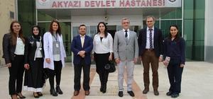 Başkan Akcan'dan böbrek hastalarına anlamlı ziyaret