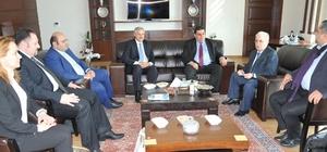 KKTC Milli Eğitim Bakanından ETÜ'ye ziyaret