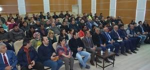 Başkan Köksoy, Belediye personeliyle toplantı yaptı