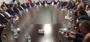 Kayseri-Yozgat ve Sivas Sulama Kooperatifi ve Birliklerinden Kayseri Şeker'e ziyaret