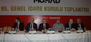 Maliye Bakanı Ağbal, Tekirdağ'da