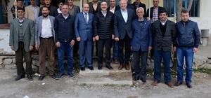 Başkan Ataç vatandaşlarla bir araya geldi