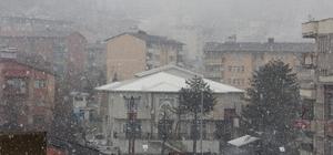 Hakkari'de Mart ayında kar sürprizi