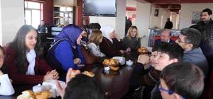 AK Parti Kadın Kolları Genel Başkan Yardımcısı Polat'tan Kaymakam Çetin'e ziyaret
