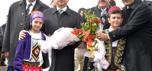 Bakanlar Arslan ve Yılmaz, Ardahan'da