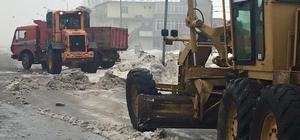 Güroymak'ta kar ve çevre temizliği
