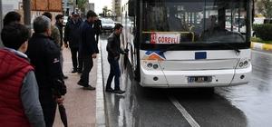 Büyükşehir Belediyesi'nden YGS'ye giren öğrencilere otobüs desteği