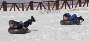Yaylada kar festivali ve off-road yarışı