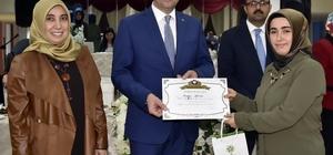 Aile Akademisi'nde sertifika heyecanı