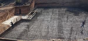 Korkuteli içme suyu deposu inşaatına başlandı
