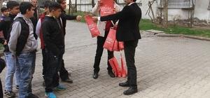İstanbul'dan Bağlarlı çocuklarla dayanışma