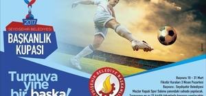 Seydişehir'de Başkanlık Kupası Futbol Turnuvası başlıyor