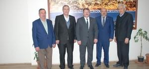 Başkan Konak'dan, SGK İl Müdürü Fidan'a ziyaret