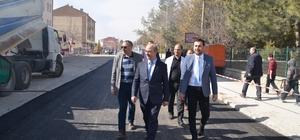 Başkan Gülcüoğlu, asfaltlama çalışmalarını yerinde inceledi