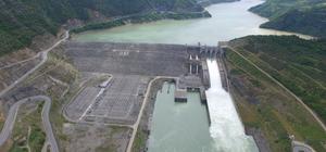Borçka Barajı ve HES'ten milli ekonomiye büyük katkı