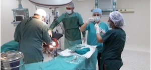 Ayvacık Devlet Hastanesi'nde ameliyatlar başladı