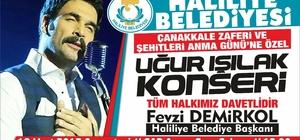 Uğur Işılak Şanlıurfa'da konser verecek