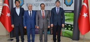 Çermik'ten Başkan Atilla'ya ziyaret