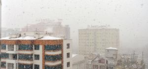 İç Anadolu'da kar yağışı etkili oldu