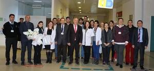 Başkan Uyan, tıp çalışanlarının bayramını kutladı.