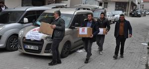 Otomotiv kulübünden depremzedelere yardım eli