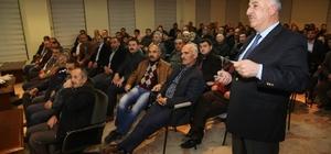 Üzümlü'de Halk Meclisi toplantısı yapıldı