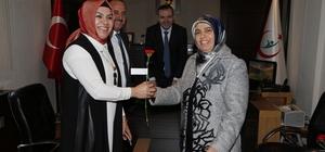 Başkan Duruay'dan, ADSM ve HASVAK Hastanesi'ne Tıp Bayramı ziyareti