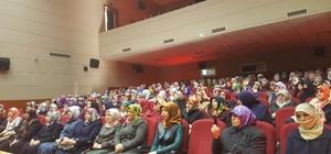 Develi'de kadınlar için konferans düzenlendi