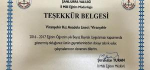 Viranşehir'in gururu oldular