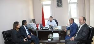 Kaymakam Turan, hastane çalışanlarının 14 Mart Tıp Bayramını kutladı