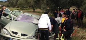 Manisa'da trafik kazası: 2 ölü, 1 yaralı