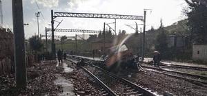 Adana'da demir yolu tamir aracı kaza yaptı: 3 ölü