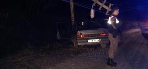 Pazarlar'da trafik kazası: 1 yaralı