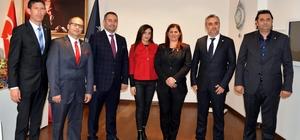 SÖGİAD, Başkan Çerçioğlu'nu ziyaret etti