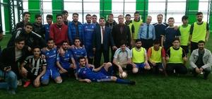 Adilcevaz'da halı saha futbol turnuvası
