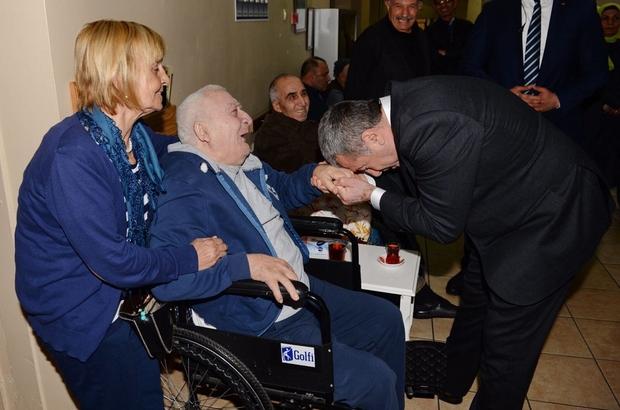 İstanbul Emniyet Müdürü Çalışkan'dan huzurevine ziyaret