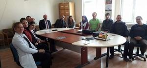 İlçe Milli Eğitim Müdürü Ali Arslan mahalle okullarını ziyaret etti